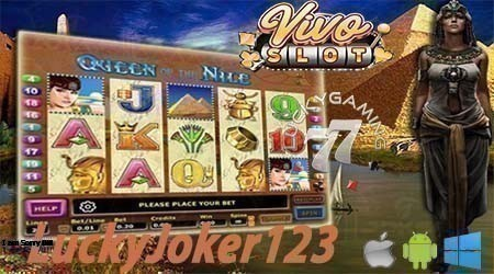 Review Slot Online Queen Of Nile Dari Vivoslot Gaming